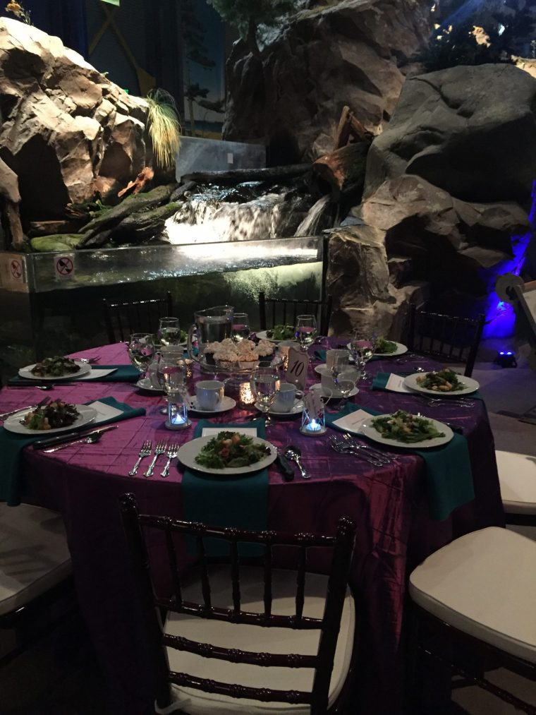 Seated Dinner - Exhibit Floor