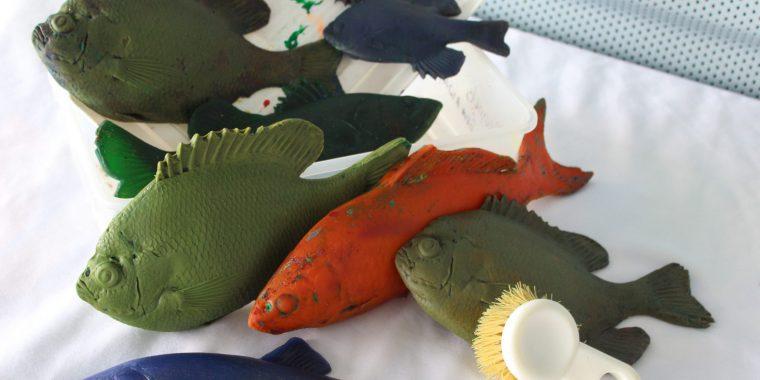 MinnAqua Fish Printing Teaching Kit